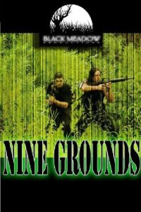 """Poster for the movie """"Nine Grounds"""""""